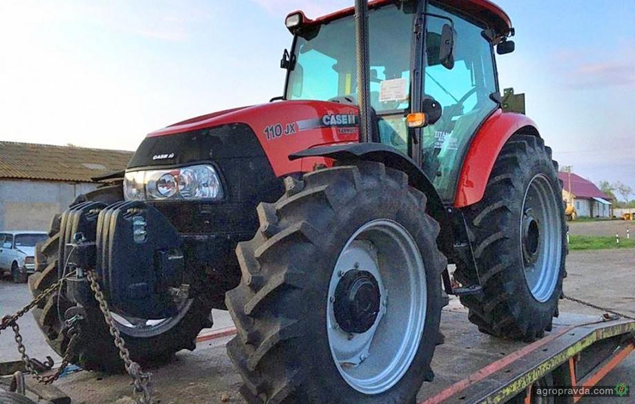 Клиентам отгрузили новые тракторы Case IH