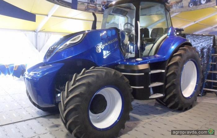 Новый концептуальный трактор New Holland. Фото