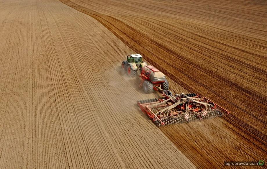 «Континентал Фармерз Групп» начала посев озимых под урожай 2022