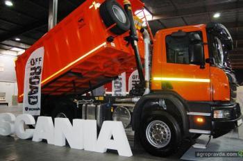 В Украине демонстрируют новинки грузовой техники
