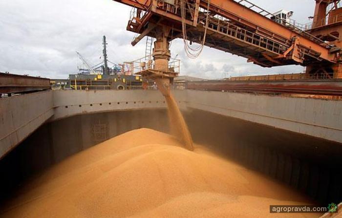 Украина на 11% увеличила экспорт зерна